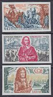 1970 IMPERF. Cardinal Richelieu Louis XIV Fontenoy Battle SCT.1286-8 Y.1655-7