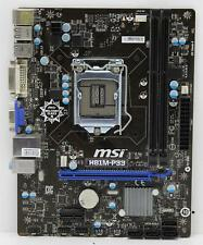 MSI H81M-P33 | MicroATX Motherboard | DDR3 Socket LGA1150 | USB 3.0