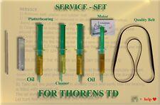 ORIGINAL Service-Kit von JOEL für THORENS TD 145, 145 MK II  mit Antriebsriemen