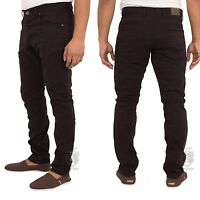 New Mens ENZO Skinny Chinos Slim Fit Jeans Pants Trousers All Waist Sizes