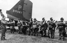 WWII  Photo D-Day Paratroops 101st ABN C-47  WW2 World War Two Normandy /1076