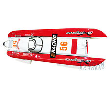 DT E51 Fiber Glass Red Electric RC RTR Racing Boat W/  Brushless Motor 120A ESC