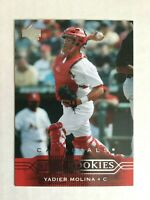 YADIER MOLINA Rookie Card RC - 2004 Upper Deck #258 - Cardinals