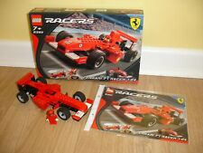 LEGO Racers - Ferrari F1 Racer - (8362) - 100% of Parts - Boxed + Instructions