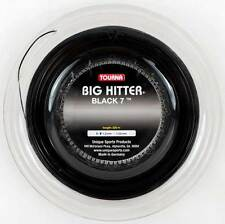 Tourna Big Hitter Black 7 - 1.20mm 17G (black) 726ft 220m Reel Tennis String