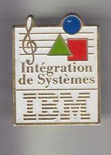 RARE PINS PIN'S .. INFORMATIQUE PC ORDINATEUR COMPUTER IBM FRANCE SYSTEMES ~CZ