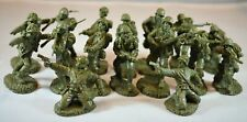 Toy Soldiers of San Diego TSSD WWII US Infantry Set 3A Green DDay Patton Rommel