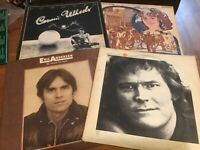 70's Folk-Rock LP Lot: Gordon Lightfoot/ Donovan/ Carole King/ Eric Andersen...