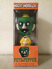 FUNKO MR POTATO HEAD SERIES PETE THE PEPPER WACKY WOBBLER BOBBLE HEAD *DENTED*