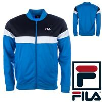 Fila Mens Full Zip Track Jacket Vintage 80s Style Tracksuit Top NEW Retro S-XXL