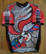 Pactimo Audi Hearst Castle Full Zip Cycling Jersey-Romero-LG Best Buddies