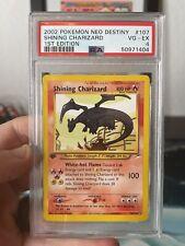 PSA 4 1st Edition Shining Charizard Neo Destiny Pokemon 107/105 Secret Rare 2002
