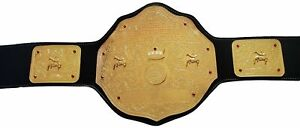 Big Gold Heavyweight Championship Belt Adult Size Gold Plated(Same Day Dispatch)