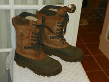 PRO LINE LEATHER INSULATED WINTER SNOW BOOTS MENS size 8