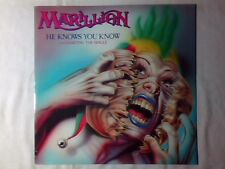 """MARILLION He knows you know 12"""" UK BLACK LABEL"""