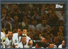 TOPPS CHAMPIONS LEAGUE-2016-17- #FIN07-REAL MADRID CHAMPIONS LEAGUE WINNERS 2016