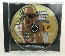 Grand Theft Auto: San Andreas (Sony PlayStation 2, 2004) Tested - PS2 - GTA