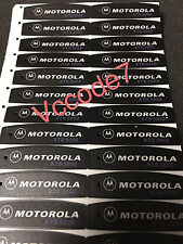 Motorola XTS5000 BLACK front nameplate label Model 1,2,3