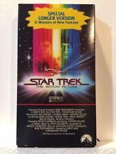Vhs Star Trek 6 Movie Collection