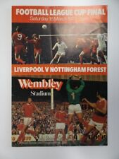 More details for liverpool v nottingham forest   league cup final 1977/1978   18 mar 1978