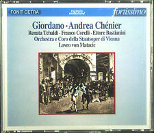 2erCD GIORDANO - andrea chenier, Tebaldi, Franco Corelli, por Matacic