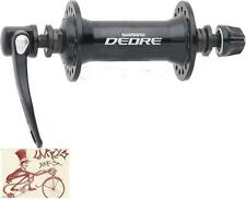 SHIMANO DEORE T610--36H--QUICK RELEASE AXLE BLACK BICYCLE FRONT HUB