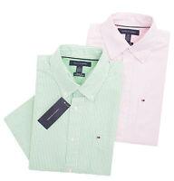 Tommy Hilfiger Men's Short Sleeve Button-Down Stripe Casual Shirt - $0 Free Ship