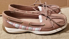 Sperry BRAND NEW TopSider Womens ANGELFISH All-Leather/Striped Deck Shoes Sz 6.5