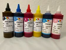 6X250ml True Color Sublimation INK Compatible For EPSON 1400 ARTISAN 1430 50