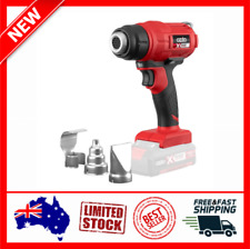 Ozito PXC 18v Cordless Hot Air Drying Heat Gun Electric 3 Nozzles