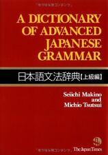 A Dictionary of Advanced Japanese Grammar Nihongo Bunpou Book 9784789012959 New