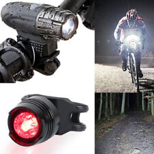 Bright LED Bicycle Bike Front Headlight USB Rechargeable and Rear Tail Light Set