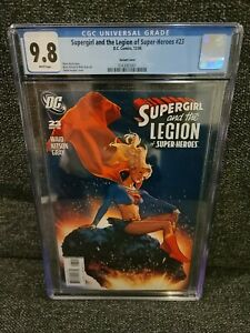 Supergirl and The Legion of Super-Heroes #23 CGC 9.8 Hughes 1:10