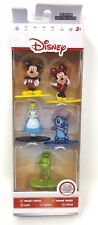 5 Jada Disney Nano MetalFigs Mickey Minnie Mouse Kermit Alice cake toppers