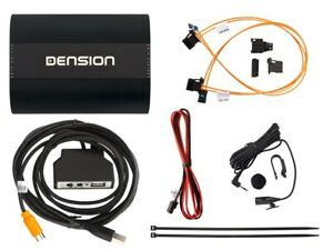 DENSION Gateway 500S Dual FOT USB BT iPhone for Audi BMW Mercedes Porsche (MOST)