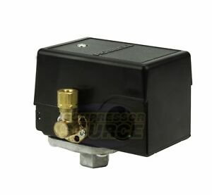 Hubbell 69JF9LY Furnas Air Compressor Pressure Switch Control Valve 140-175 PSI