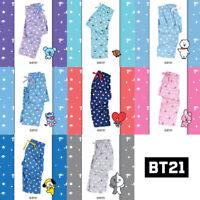 BT21 Official Authentic Goods Pajamas Pants BTS CHIMMY COOKY KOYA Etc