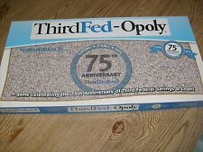 ThirdFed-Opoly Board Game 2013  Third Federal Savings & Loan Monopoly  COMPLETE