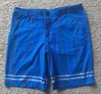 lululemon Blue Striped Size 40 Shorts