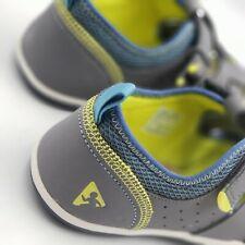 Plae Sam 2.0  Steel Gray Boys Sandals Size 3.5 Machine Washable 106251-053