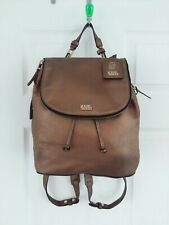 KARL LAGERFELD BAG BRONZE LEATHER BACKPACK