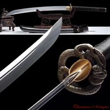 Demon Blade Cursed Sword Naginata Manganese Steel Blade Sharp Battle Ready #1834