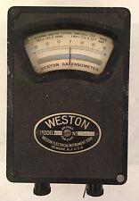 Antique Weston Electric Instrument Corp. Galvanometer Model 440 #4875 VTG