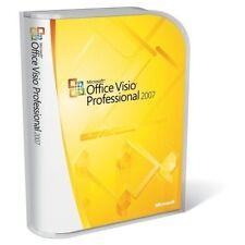 Office Visio Professional 2007, es Microsoft D87-02774