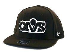Cleveland Cavaliers nuevo 47 marca Cavs Browns Marrón Blanco Era Gorra