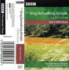 Cliff Adams Singers 'SING SOMETHING SIMPLE COLLECTION' Audio Cassette - BBC