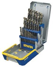 IRWIN HANSON 3018006B - 29 Pc. TURBOMAXA(R) Metal Index Drill Bit Set