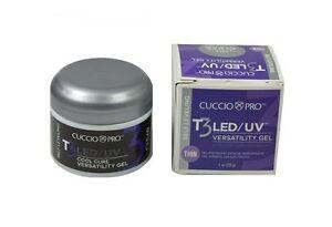 Cuccio T3 Self Leveling Thin LED/UV Cool Cure Versatility Gel 4 colors 1 oz(28g)