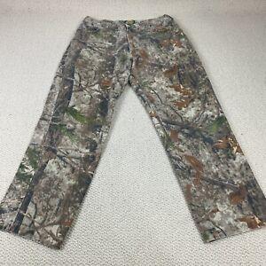 Cabelas Camouflage Zonz Woodlands Jeans Camo Pants Men's Size 36