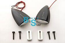 Black Custom LED Mirrors Turn Signals Fit Suzuki GSXR1000 2003-2004 BSR
